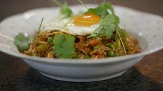 Eén - Dagelijkse kost - Gewokte rijst met een spiegelei | Eén