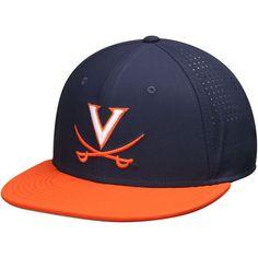 Virginia Cavaliers Nike True Vapor Performance Fitted Hat - Navy/Orange - $36.99