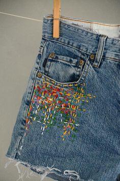 Vintage Levi Shorts High Waisted Denim Shorts Jeans - All Sizes - Back to School - Vintage Levi Shorts High Waisted Denim Shorts Jeans All Diy Jeans, Diy Shorts, Jeans To Shorts, Modest Shorts, Long Shorts, Summer Shorts, Overalls, Vintage Levis, Vintage Levi Shorts