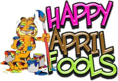 Happy April Fools' Day from Garfield (and us!)
