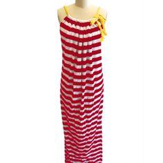 Magenta Megan Maxi Dress