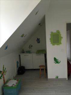 Deco de chambre bébé jungle