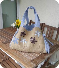 TESSUTI CREATIVI by Alesoftcraft: beach bag