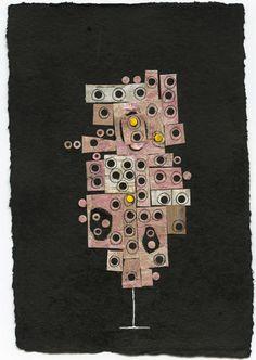 Night Pink Tree - Nancy Monk