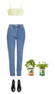 """""""peace in a tin can"""" by emma-craft ❤ liked on Polyvore featuring Topshop, H&M and MTWTFSS Weekday"""