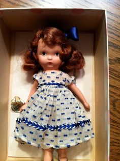 Nancy Ann Storybook Doll School Days -- I hoped for these every birthday party.