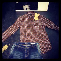 Camicia Antony morato quadri