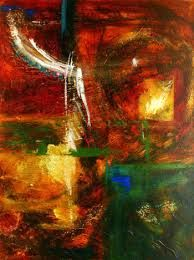 Image result for green abstract paintings