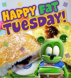 Happy Fat Tuesday! - http://www.thegummybear.com/2015/02/17/happy ...