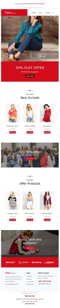 Shopon - Newsletter Template for Ecommerce Websites + Stampready - professional email template