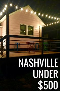 Time to dust off your boots. Nashville is in the spotlight as a top travel destination for 2018. HomeAway has put together a list of places to stay for $500 and under for a weekend away in music city. For as low as $11 per person a night, travelers can soak up all that Nashville has to offer with one of these fabulous vacation home rentals!