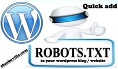 How to add robots.txt to a wordpress blog / website without a plugin - 3rd Planet Techies