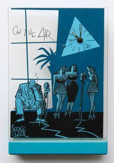 Serge Clerc Bd Art, Ligne Claire, Illustration, Shape And Form, Art Graphique, Comic Artist, Comic Books Art, Storyboard, Dressing Rooms