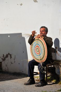 Lavorazione dei cestini, Sant'Antioco Sardinia
