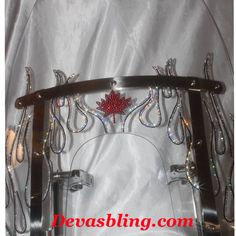 Custom Swarovski motorcycle creations. Devasbling.com