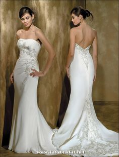 Bridesmaid Dresses | The Most Stylish Dresses And Wedding: Strapless Wedding Gowns Dresses ...