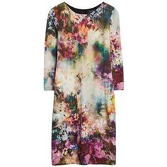 Really like this for gallery openings. Looks like a pretty watercolor and I like the the no waist style.