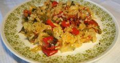 Λαχανόρυζο Greek Recipes, Grains, Rice, Vegetarian, Food, Essen, Greek Food Recipes, Meals, Seeds