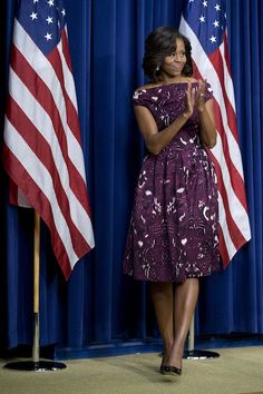 Lovely in Laura Smalls - Home - Mrs.O - Follow the Fashion and Style of First Lady Michelle Obama
