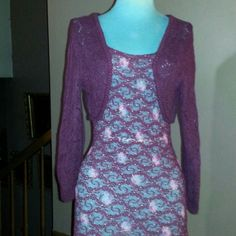 """Cardigan Sweater Shrug Burgundy cotton crochet design sweater shrug open design great for layering over things 14""""long American Eagle Outfitters Sweaters Cardigans"""