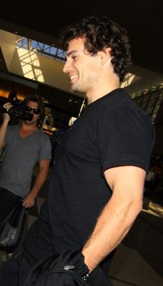 Henry Cavill in LAX Airport