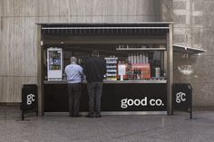 Good Co. Coffee by Jason Little, via Behance