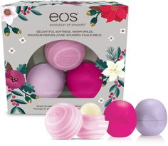 Get noticed with visibly softer lips. eos Visibly Soft Lip Balm, enriched with natural conditioning oils, moisturizing shea butter and antioxidant vitamins C & E, nourishes for immediately softer, more beautiful lips.