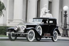1925 ROLLS-ROYCE SPRINGFIELD SILVER GHOST RIVIERA TOWNCAR - Barrett-Jackson Auction Company - World's Greatest Collector Car Auctions