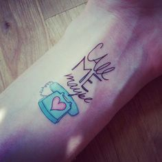 Call me Maybe by Leah Flores. Your summer flirt is only a few clicks away!   http://www.tattster.de/46-call-me-maybe.html