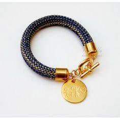 Blue Love Rope Toolittle Bracelet #rope bracelet