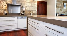 Soft brown countertops by Caesarstone Quartz