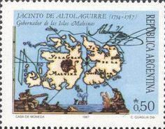 Malvinas Old Map