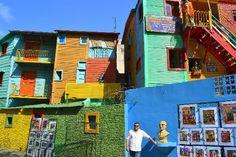 colorful places.La Boca Buenos Aires, Argentina