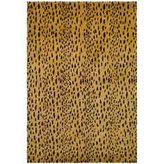 Soho  Beige and Brown Rectangular: 2 Ft. x 3 Ft. Rug