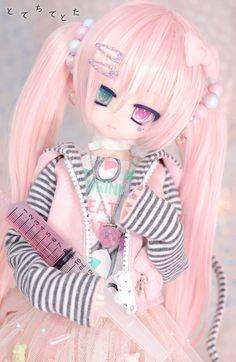 Pretty Dolls, Beautiful Dolls, New Monster High Dolls, Baby Pink Aesthetic, Kawaii Doll, Anime Figurines, Dream Doll, Smart Doll, Anime Dolls