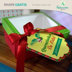 Free from silhouette SQUARE BOX WITH LID WITH WINDOW