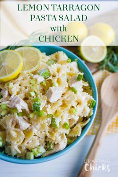Recipe for tuna tarragon pasta salad