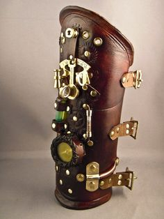Steampunk arm cuff
