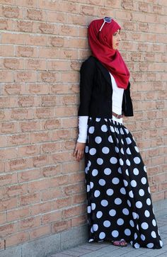 Black Polka Dot Smoc