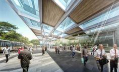 Pour la conception de ce bâtiment, une image caractéristique, moderne et poétique a été demandée qui permettrait une identification instantanée du bâtiment dans son contexte urbain. L'idée d'un bâtiment singulier répétée à plusieurs...