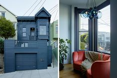 (All photos by Matthew Millman) It's easy to loveLauren Geremia's 25th Street Project, a Victorian residence in San Francisco's Noe Valley neighborhood with a storybook facade and an utterly moder...