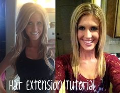 Hair extension video tutorial. Shows you how to get awesome hair extensions under 60 dollars!