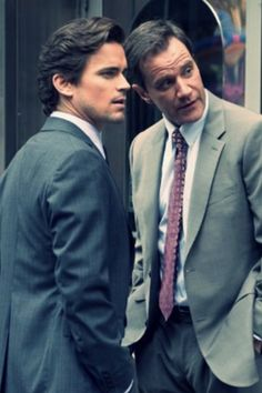 White Collar |  Neal and Peter ~~ They are both so cute... Need I say more... ;)