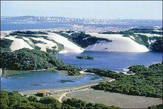 Natal , Rio Grande do Norte... Brazil  Dunas de Jenipabu