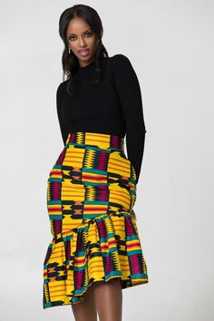 14 African Attire Dresses And Skirts As bolt face masks become a hot commodity, Proudly South African (Proudly SA) has fabricated it accessible for citizens to acquirement these items via. African Prom Dresses, Latest African Fashion Dresses, African Print Fashion, African Prints, African Attire, African Wear, African Dress, African Pencil Skirt, African Print Skirt