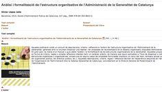 Us passo un enllaç a un llibre editat per la EAPC que us permetrà entendre com està organitzada la Funció Pública de la Generalitat de Catalunya