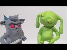 Clay Animation Short: Make a Friend - YouTube (:51)