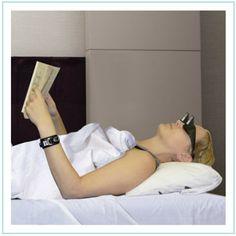 Gafas para leer acostado