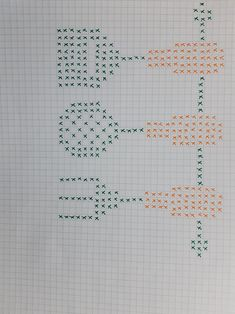 Crochet Faces, Booties Crochet, Cross Stitch Embroidery, Bullet Journal, Diy And Crafts, Cross Stitch Kitchen