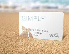 "Seacoast National Bank ""Simply"" Debit Card on Behance"